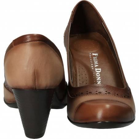 Pantofi Femei Piele naturala, culoarea maro