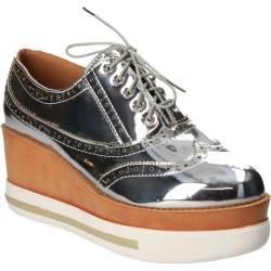 Pantofi Femei Platforma Argintiu