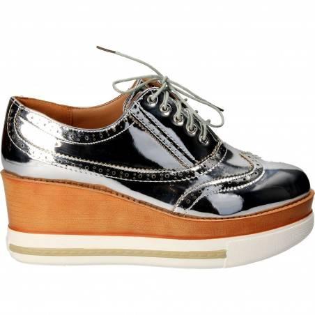 Pantofi Oxford cu platforma pentru Femei