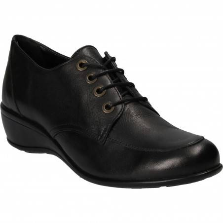 Pantofi Femei, Elegant piele, casual, negru