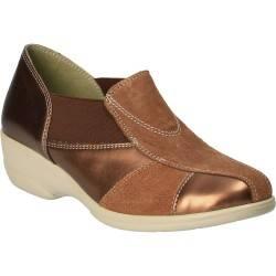 Pantofi Femei, piele, casual, maro