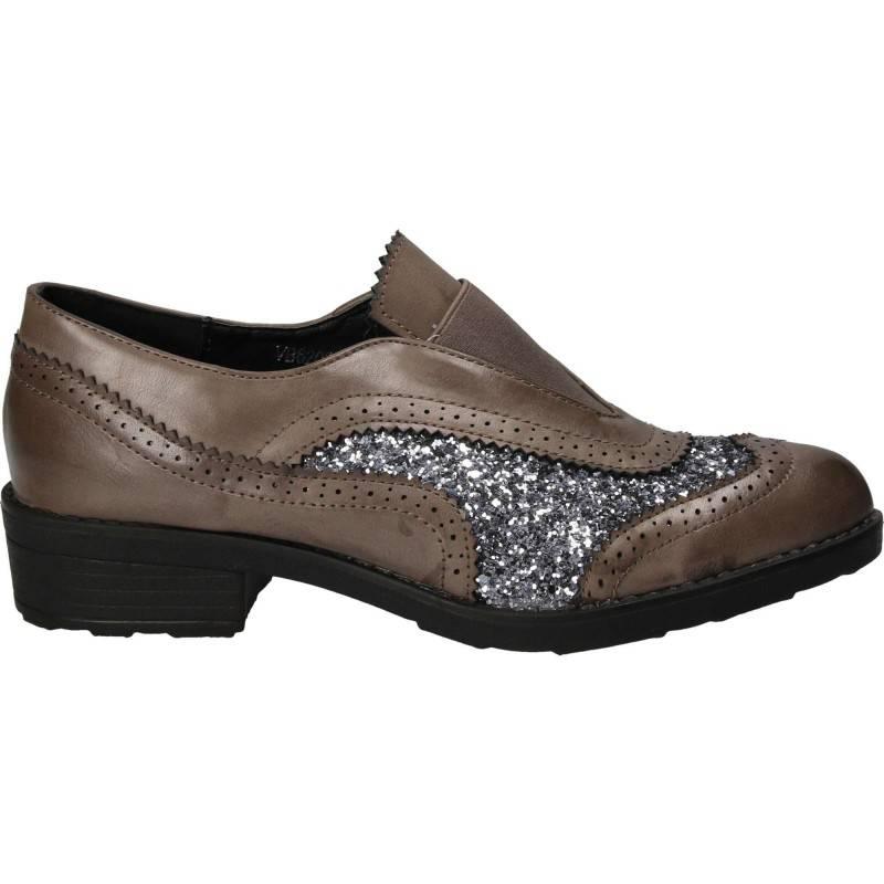 Pantofi Femei Elegant piele ecologica gri