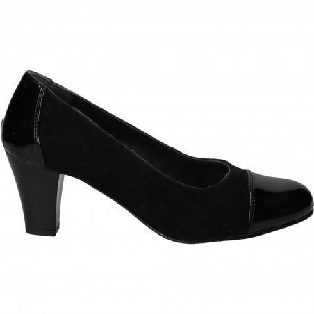 Pantofi Femei, piele, elegant, negru