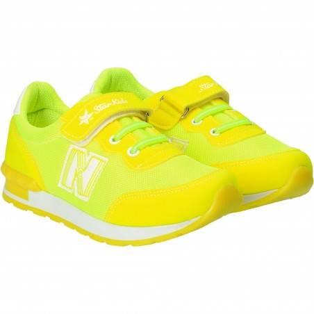 Pantofi Sport Copii Verde fluorescent
