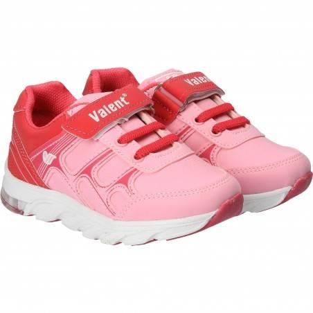 Pantofi Sport Copii Roz si Rosu