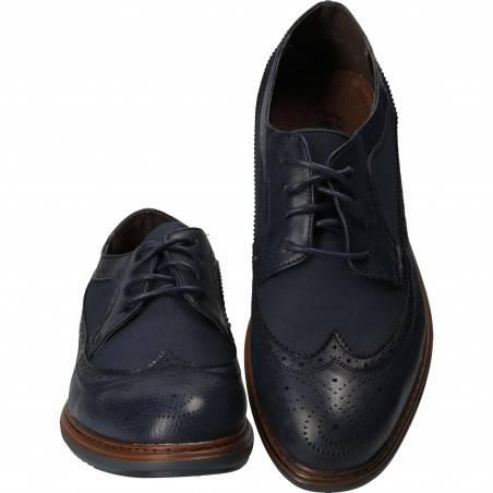 Pantofi Barbatesti in stil Oxford, piele ecologica
