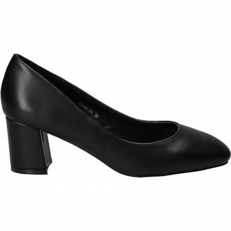 Pantofi Femei, piele ecologica, elegant, negri