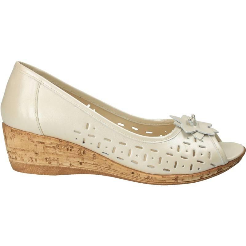 Pantofi Femei, piele, casual, bej  MOM13110BE.RS-59