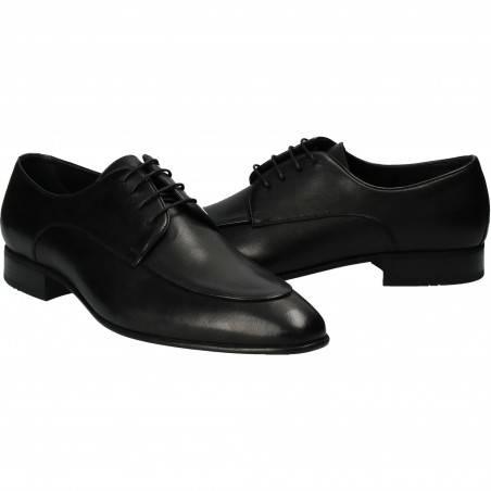 Pantofi din piele, eleganti, barbati, negru VGT18725-4N-292