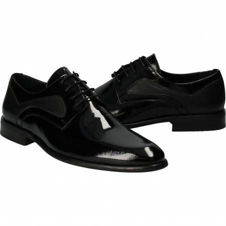 Pantofi din piele naturala, eleganti, pentru barbati