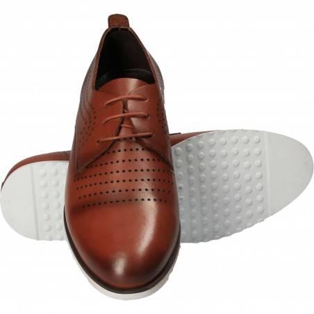 Pantofi barbati piele casual maro