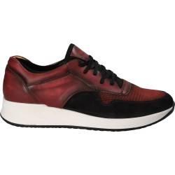 Pantofi Barbati Casual Piele bordeaux