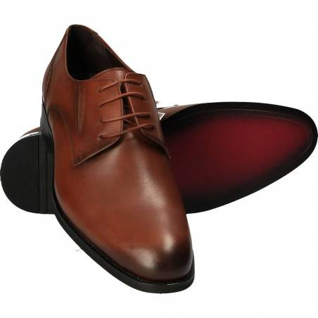 Pantofi din piele, eleganti, barbati, maro