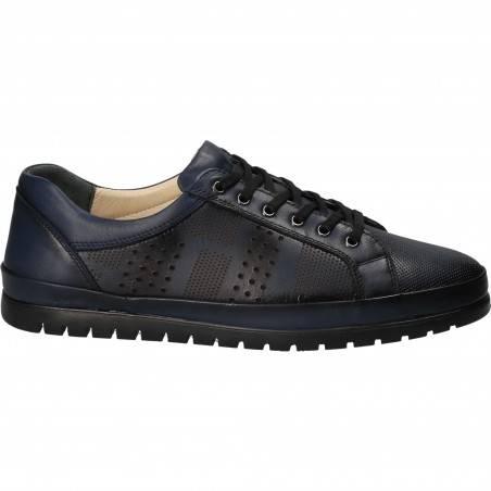 Pantofi barbati piele casual albastru VGT18S-261B-253