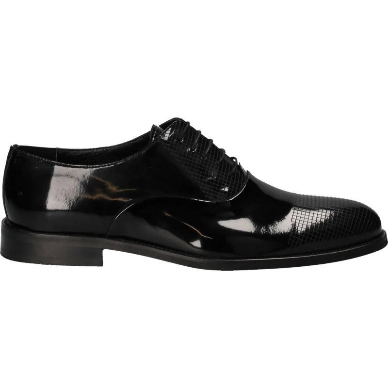 Pantofi din piele, eleganti, barbati, negru