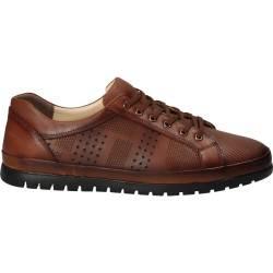 Pantofi Barbati, piele, casual, maro