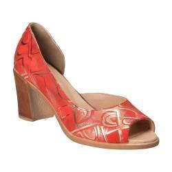 Pantofi Femei, piele, elegant, rosu