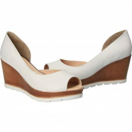 Pantofi Femei, piele, elegant, alb VGT66146-3A-241