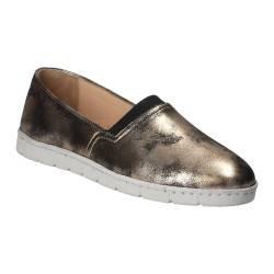Pantofi Femei, piele, casual, espadrile, auriu