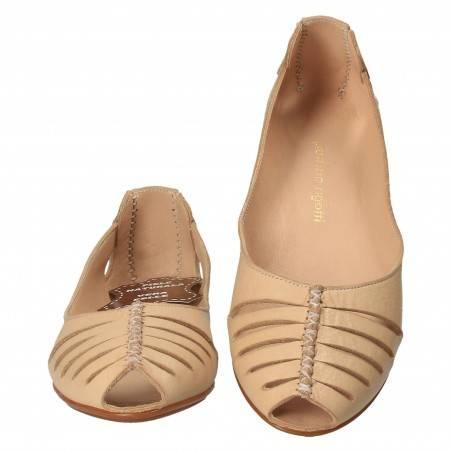 Pantofi de vara, fashion, piele naturala