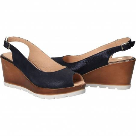 Sandale Elegante Femei Piele Albastru, Patrizia Rigotti