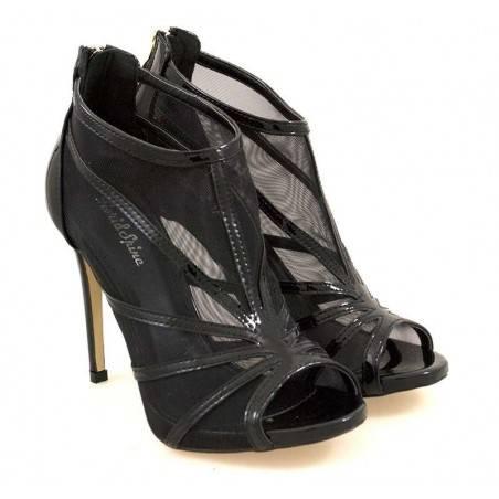 Sandale Femei elegant piele ecologica negru VGFEK082N.MS-145