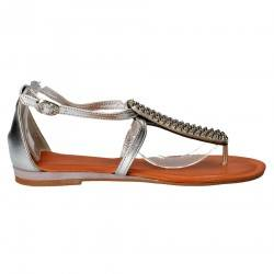 Sandale Femei, casual, piele naturala