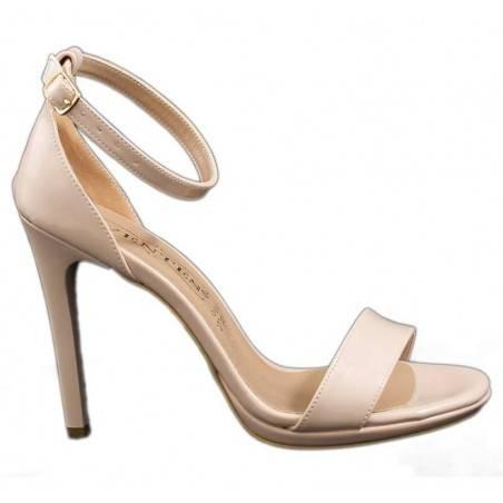 Sandale elegante, bej, pentru femei