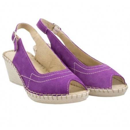 Sandale Femei elegant piele violet