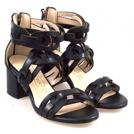 Sandale femei elegant negru VGT501199ZN-165