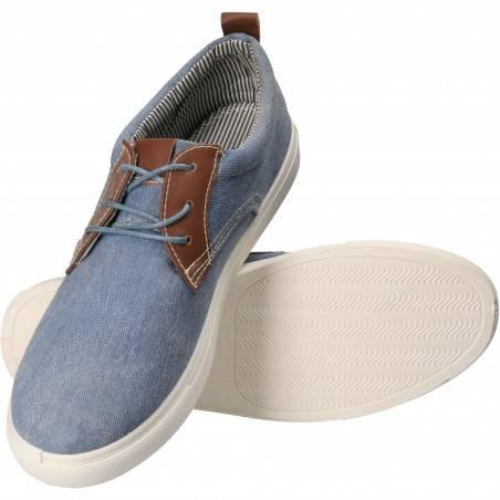 Pantofi Barbati Casual albastru SMS00B-902DJB-198