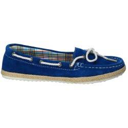 Mocasini Femei piele albastru LEOR2050001476579