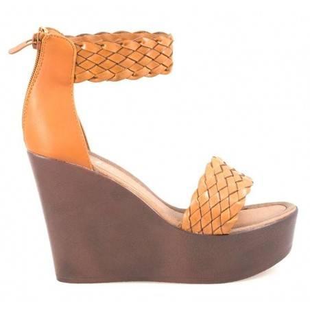 Sandale dama casual maro marca Fly For VGFJH2050M.MS