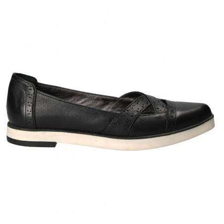 Pantofi casual din piele naturala, pentru femei