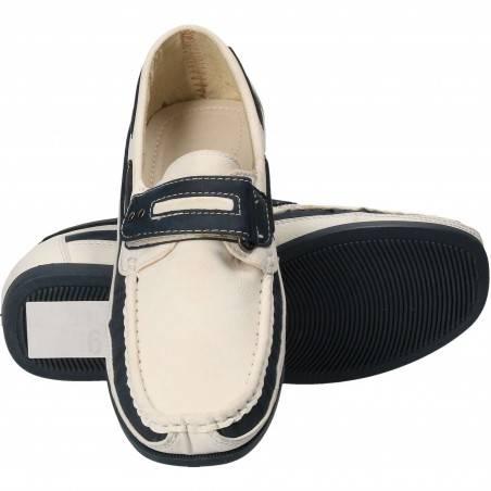 Pantofi Copii Piele ecologica alb