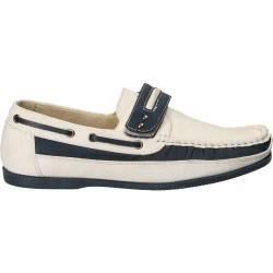 Pantofi Copii Piele ecologica alb SMSG002AB