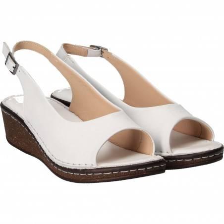 Sandale Femei elegant piele albe