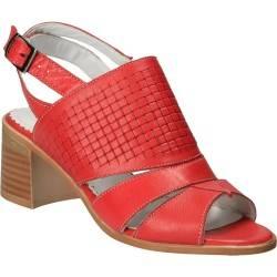 Sandale Femei elegant piele rosii