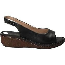 Sandale Femei elegant piele negre