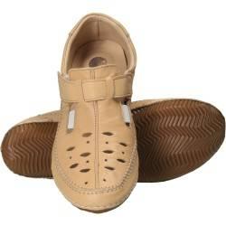 Pantofi femei casual piele bej