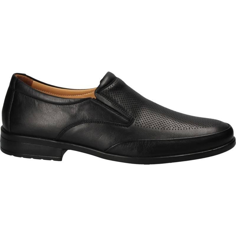 Pantofi Barbati casual piele negru