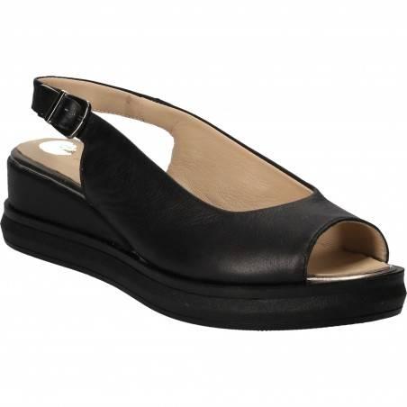 Sandale Femei casual piele negre