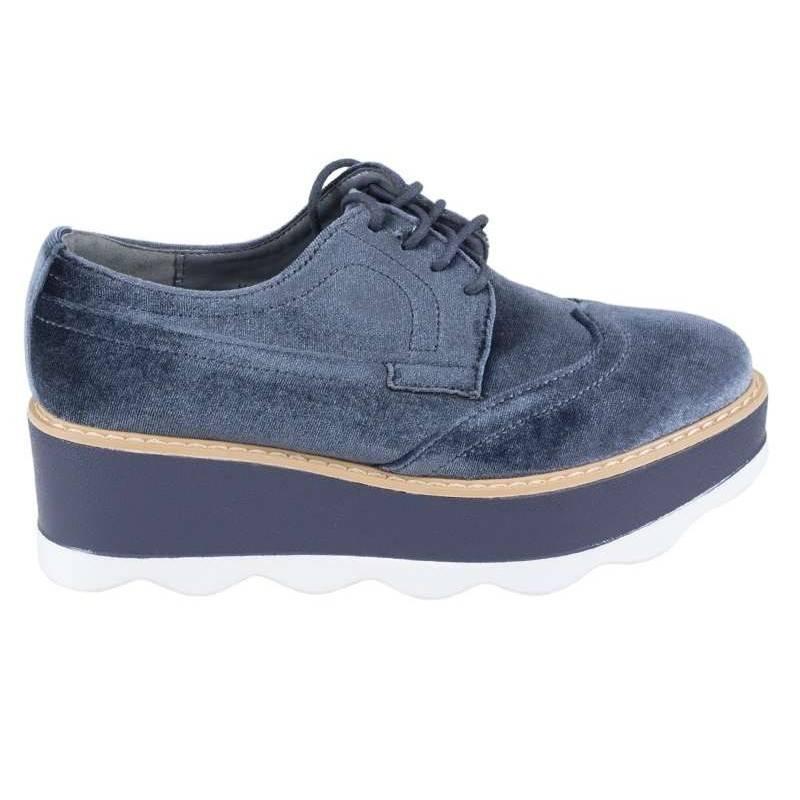 Pantofi dama casual gri marca BellaMica