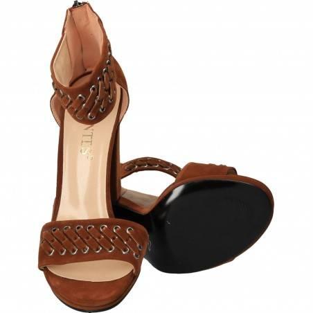 Sandale Femei Elegant Maro