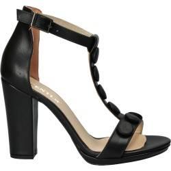 Sandale trendy, stil elegant, toc gros