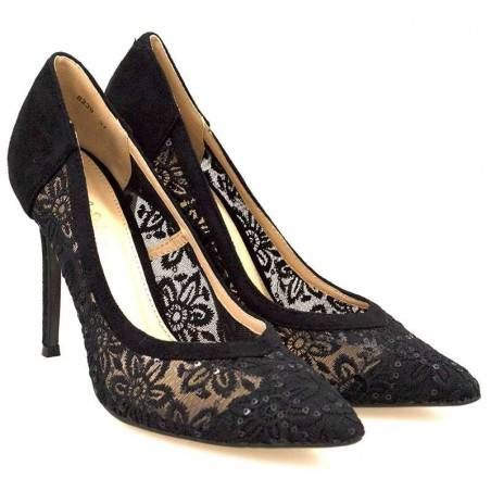 Pantofi Femei Eleganti Negri