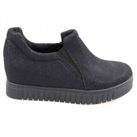 Pantofi Femei Textil negri
