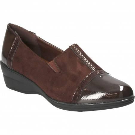 Pantofi Femei Eleganti cu Platforma Maro