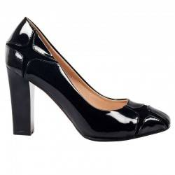 Pantofi femei elegant lac...
