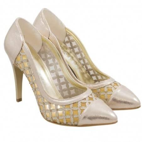 Pantofi Femei Eleganti Aurii